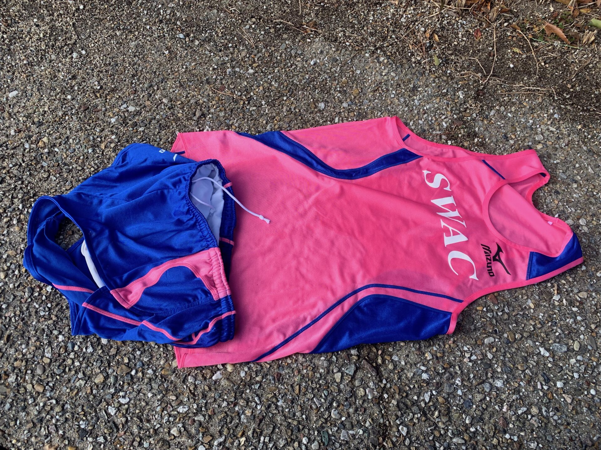 SWACユニフォームを初着用してマラソンレース1週間前の刺激入れ練習・3km+2km+1kmを実施