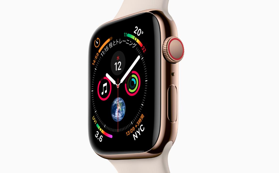 Apple Watch「Series4」と「Series3」の違いを調べてみました