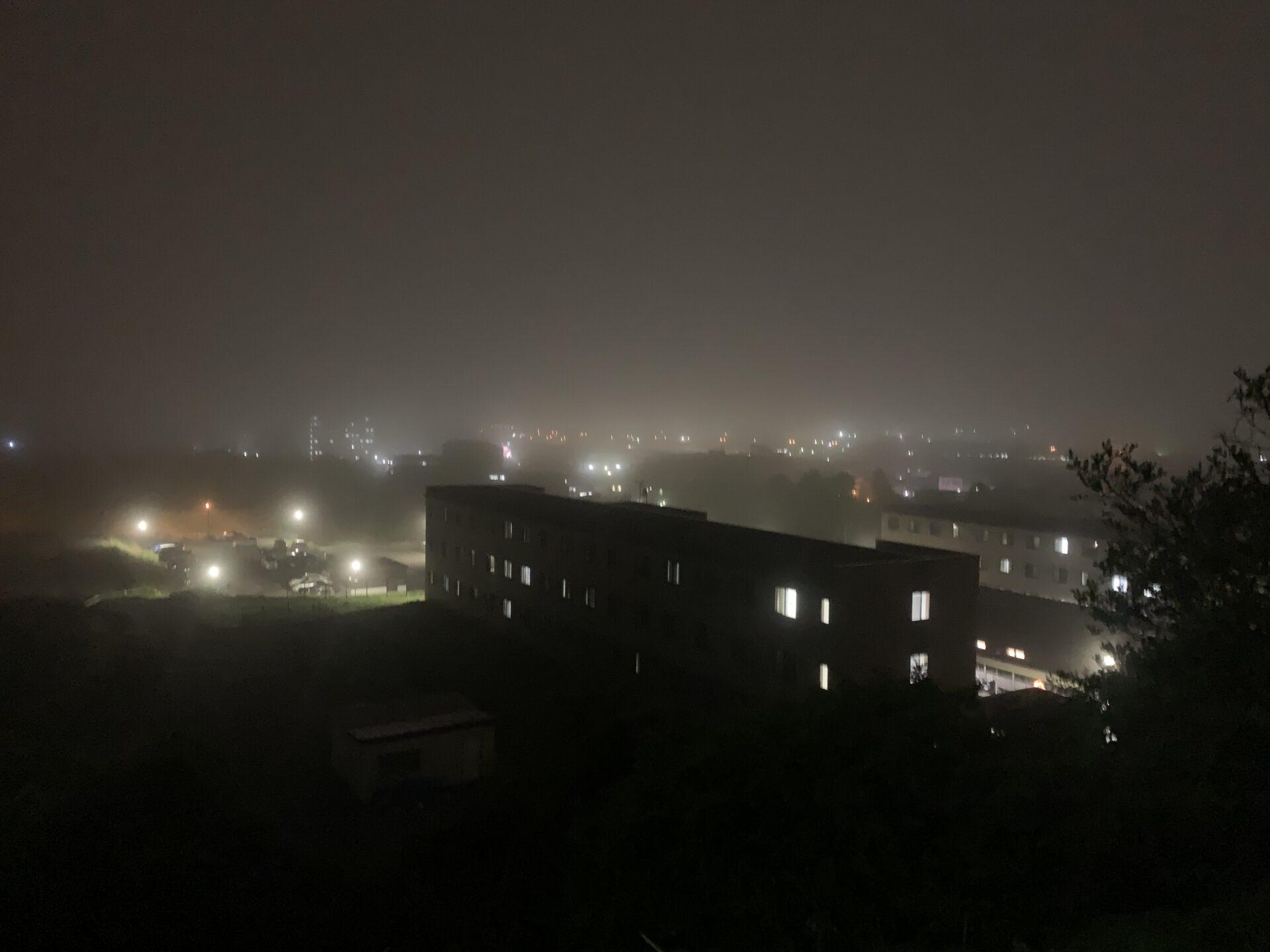洞爺湖マラソン2日前は北海道・室蘭にて工場夜景鑑賞ジョグのはずが・・・