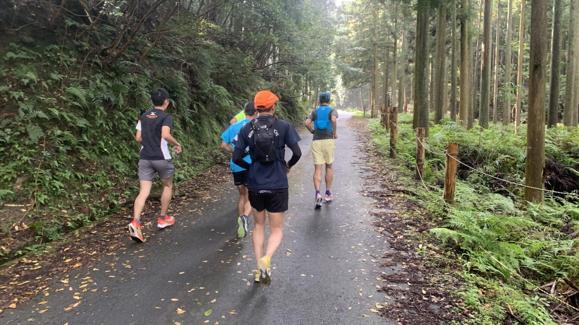 亀山関⇄津市錫杖湖30km峠走にて非常に心地よく走っていたはずが・・・