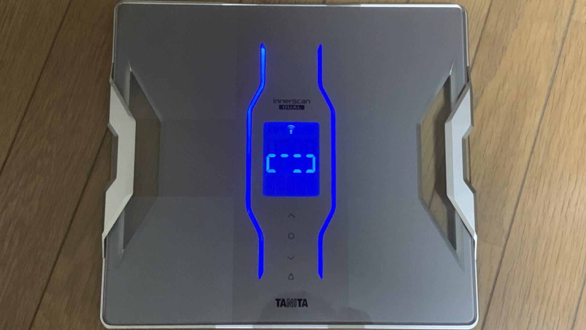 超売れ筋体組成計・タニタのRD-907を購入し体重を計測してみた結果・・・