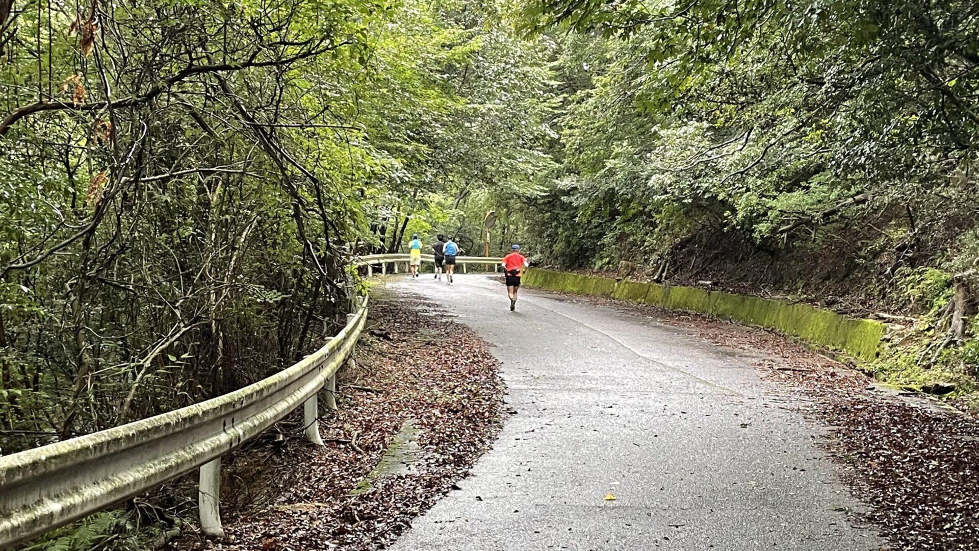 上り坂への苦手意識克服に向け亀山市石水渓峠走を実施した結果